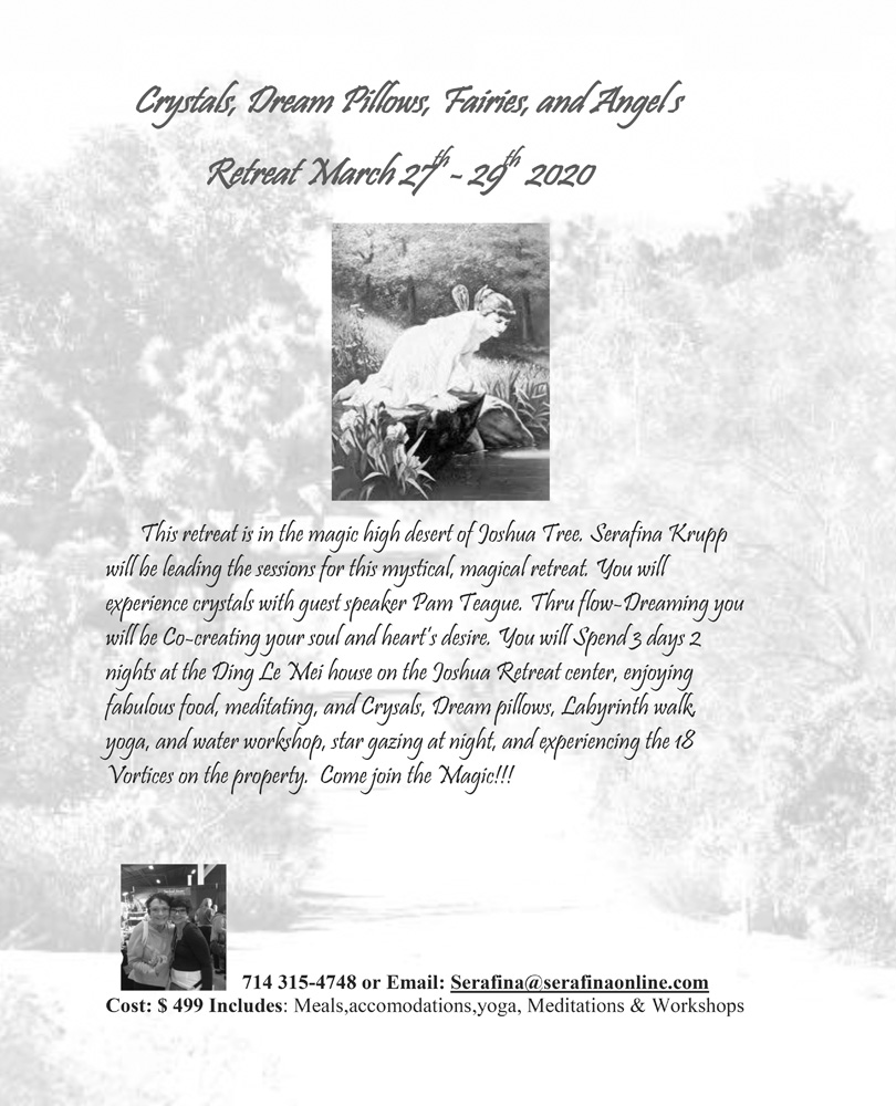 Retreat March 27-29 2020