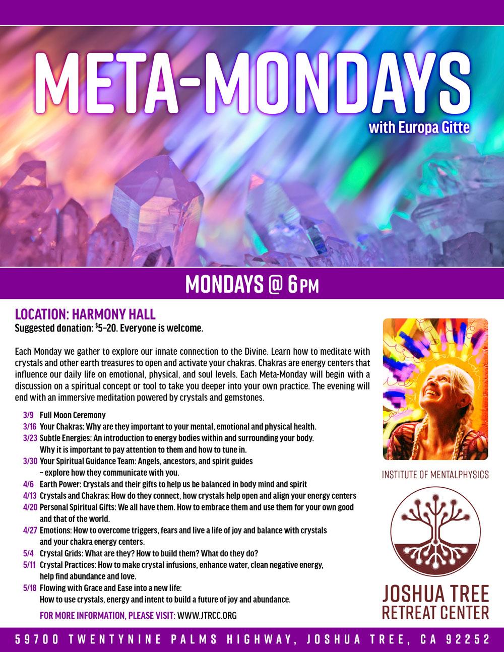 JTRC-Meta-Mondays